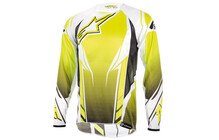 Alpinestars Men&#039;s A-Line Longsleeve Jersey gelb/fluo/wei
